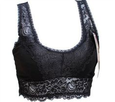 Free shipping Wireless 2013 full lace bra V-neck belt pad tube top vest underwear
