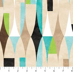 - Northcott Fabrics Modern Elements Surf Colorway by Designer Deborah Edwards 20390-63 Yardage - Craft Town Fabrics