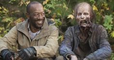 Walking Dead Star Reveals His Ingenious Way of Keeping Secrets -- Lennie James has devised a brilliant method for keeping the big secret of Negan's victim that will be revealed in The Walking Dead Season 7. -- http://tvweb.com/walking-dead-lennie-james-keeping-secrets/