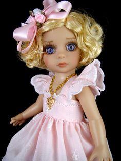 Sun Dress fits Tonner Patsy, Ann Estelle, Kish, Yo sd. Little Charmers Doll Desn