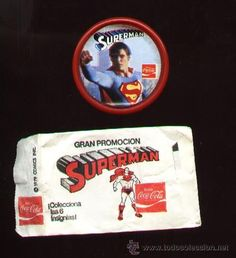 Example of collectible bottle cap and mexican promotional flyer.