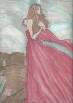 So, i tryed to draw with Aquarell agiein. I Hope you like it :)        SO ich hab versucht wieder mit aquarell zu zeichnen. Ich hoff es gefällt euch :)