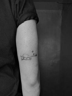 Got my very first Star Wars tattoo. One of the most memorable scenes. Rebellen Tattoo, Tattoo Quotes, Dainty Tattoos, Mini Tattoos, Future Tattoos, Tattoos For Guys, Comic Book Tattoo, Star Wars Quotes, Gaming Tattoo