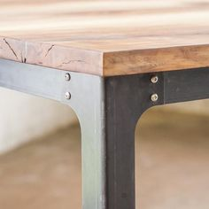 Bold MFG's Industrial Table Legs are perfect for breathing new life into that old table top that you love with those regrettably dated legs or for designing the