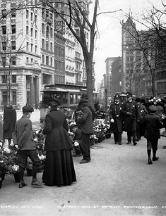 Streets of New York City, c. 1904 `