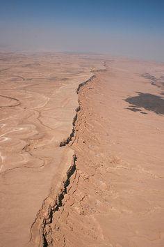 Makhtesh Ramon Landform Israel