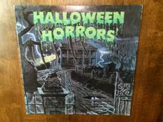 Vintage Halloween Horrors Vinyl Record Album by DecrepitudeAplenty