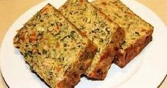 The culinary corner: Salmon & Vegetable Loaf (Quick & Easy Meals) Top Recipes, Veggie Recipes, Fish Recipes, Vegetarian Recipes, Cooking Recipes, Healthy Recipes, Romanian Food, Romanian Recipes, Breads