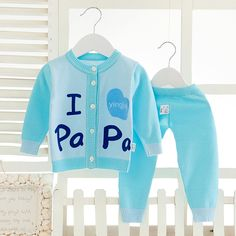 Roupas para recém nascidos de outono letras Dos Desenhos Animados Do Bebê roupas de menina Bebê menino roupas camisola Do Bebê Da Criança cardigan dois peça CC113 em Conjuntos de roupas de Mãe & Kids no AliExpress.com | Alibaba Group