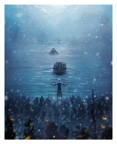 Game+of+Thrones+-+Hardhome+by+Andy+Fairhurst.jpg (1300×1600)