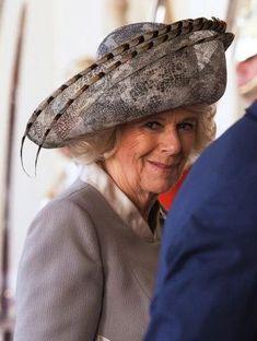 Duchess of Cornwall, October 20, 2015 in Philip Treacy   Royal Hats