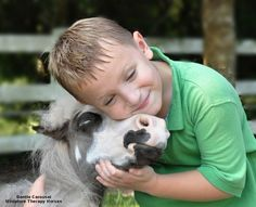 They make people smile. | 19 Reasons Why Therapy Mini Horses Are The Most Amazing Creatures Of All Time