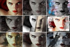 Check out 8 Distressed Image Treatments by scarab13 designs on Creative Market