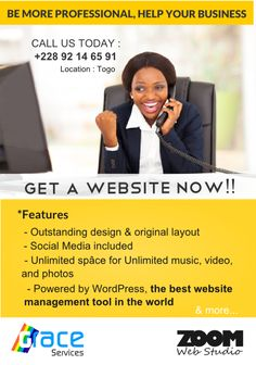Become more professional, get a website now. Offer available now! #ZWS http://www.zoomwebstudio.com  http://fb.com/zoomwebstudio