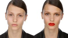 Kate Moss Cover Make-up Look with Makeup Artist Charlotte Tilbury -- best red lipstick application tutorial