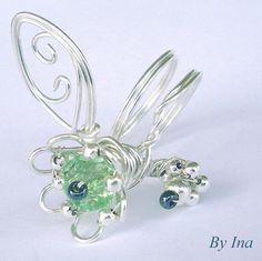 Morning Dew - Adjustable Ring   JewelryLessons.com