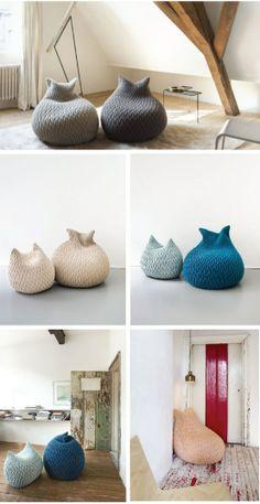 DECORANDO CON PUFFS | Decorar tu casa es facilisimo.com