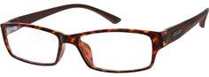 Fashionable Rectangular Eyeglasses