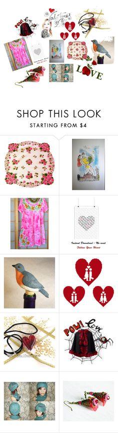 """Valentine's gifts"" by nadya-mendik ❤ liked on Polyvore"
