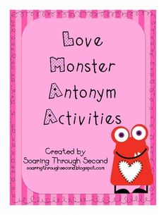Need some fun activities for your students to practice antonyms during February? This unit comes with three fun activities for your students to pra...