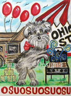 Hey, I found this really awesome Etsy listing at https://www.etsy.com/listing/178588332/osu-tailgating-dog-blank-note-card-pack