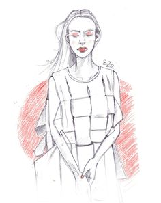 ZEEZEEYOU FASHION PROJECT  – geometric clothing (fashion #illustration)