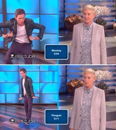 Try Not To Laugh Watching Eddie Redmayne Do Animal Impressions