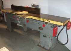 Heavy-Duty-Oliver-Model-166-BD-12-034-Wood-Jointer-Planer-5-HP-Motor-Made-in-USA