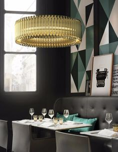 Wesentliche Tipps und Möbel zum Bars & Restaurants Dekoration > Denken Sie an luxuriöse Projekte? Hier sind 25 Tipps für Bar & Restaurant Design | tipps und möbel | innenarchitektur | hotel design #wohndesign #luxus # elegant lesen Sie weiter: http://wohn-designtrend.de/wesentliche-tipps-und-moebel-zum-bars-restaurants-dekoration/