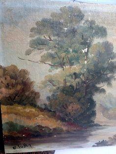 Vintage Landscape - Signed