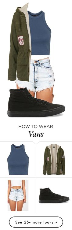 featuring Topshop, Vans, women's clothing, women's fashion, women, female, woman, misses and juniors