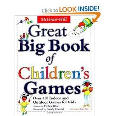 Bestseller Books Online Great Big Book of Children's Games: Over 450 Indoor & Outdoor Games for Kids (Ages I have used this book for some of my PE classes and found it very useful. Outdoor Games For Kids, Indoor Games, Indoor Activities, Camping Games, Camping Activities, Family Activities, Camping Gear, Helping Children, Reading Levels