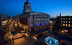 Nottingham Christmas Market and Winter Wonderland When: ends January 6 Nottingham's Victorian-themed gift and craft market (ends December 24...
