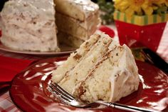 Italian Cream Cake | mrfood.com