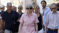 Daily Mail's Verdict On Theresa May's Holiday Dress Provokes Anger
