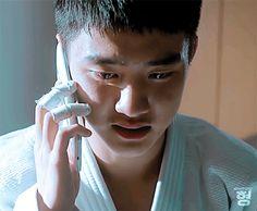 Kyungsoo during phone calls about Jongin - not the initial one that said he was blind. Kyungsoo, Kaisoo, Chanbaek, Chanyeol, My Annoying Brother, Got7, Exo Do, Do Kyung Soo, Xiu Min