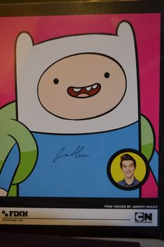 Autographed picture of Finn--er,uh, Jeremy Shada.