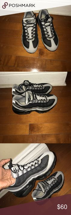 95 Air Max 360 Great condition. Soles are missing. No marks or cuffs. Nike Shoes Sneakers