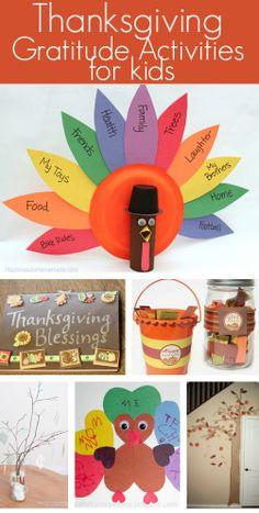 Thanksgiving Gratitude Activities for Kids