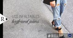 ¿Has probado verte con unos #BoyfriendJeans? Te damos las claves para que los luzcas de forma impecable en nuestro Blog Ripley -> www.BlogRipley.com #ModaRipley#tips #fashion