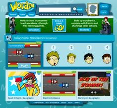 Wordia - Games based learning for students — Edgalaxy - Teaching ideas and Resources New Classroom, Science Classroom, Educational Websites, Educational Technology, Online Reading Programs, Websites For Students, Education Major, Learning Through Play, Learning Games