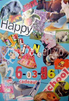 Door Lianne, groep 7 Benodigdheden   tijdschriften schaar en plaksel gekleurd papier De kinderen maken een collage over zichzelf. Begin met ...