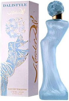 Dalistyle Salvador Dali perfumes always edgy, exciting unusual a great addition to a perfume bottle collection