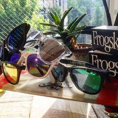 今日みたいな日差しには  #standardcalifornia #スタンダードカリフォルニア #oakley #frogskins #sunglasses