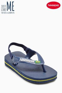 bdb8c6b96a5f7d Buy Havaianas® Navy Baby Brasil Flip Flop from the Next UK online shop