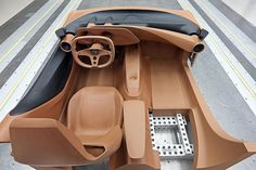 Opel GT concept - interior clay modelling