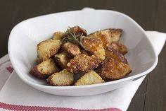 Crispy Parmesan-Rosemary Roasted Potatoes - Handle the Heat