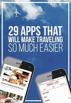 29 Apps That Will Make Traveling So Much Easier Save money on travel, traveling…