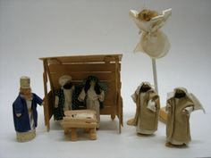 How to make clothespin nativity set
