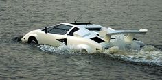 """The World's Only Amphibious """"Lamborghini Countach"""" Is for Sale on eBay"""